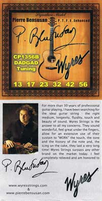Wyres Signature Set guitar strings